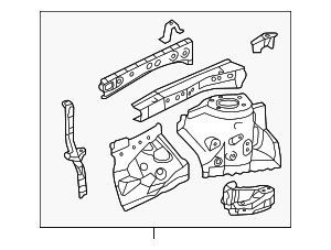 Apron Assembly - Toyota (53701-06230)