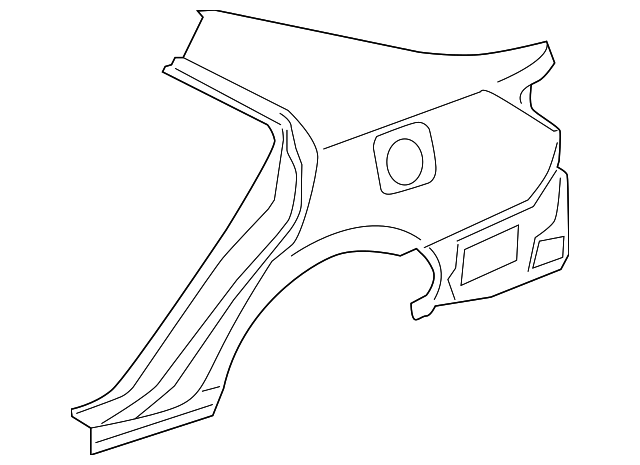 Quarter Panel - Toyota (61602-06180)