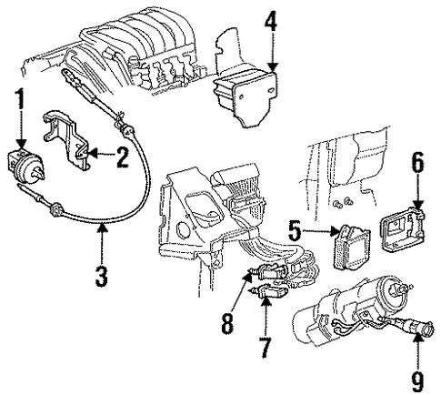 NT01155 besides 1991 Toyota 4runner Wiring diagram in addition P 0900c152800695a4 besides Trackback as well T10658961 86 jeep cherokee larado air filter. on cruise control vacuum actuator