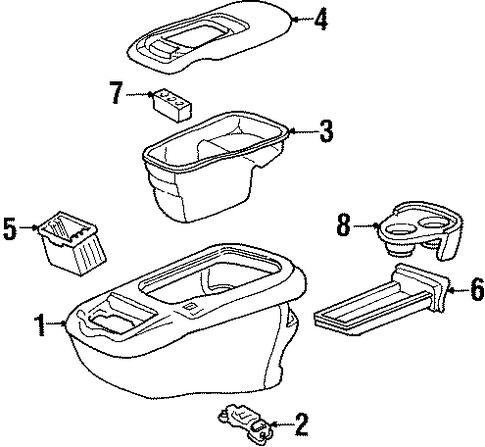 Floor Console Scat