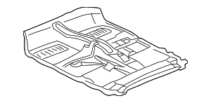 Floor Cover - Toyota (58510-17211-C1)