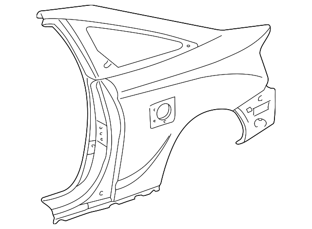 Quarter Panel - Toyota (61602-2D490)