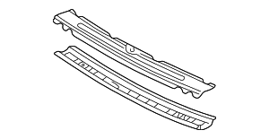 Windshield Header - Toyota (63102-AA903)