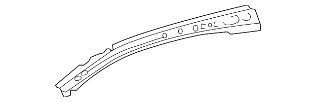 Side Rail - Toyota (61071-0D020)