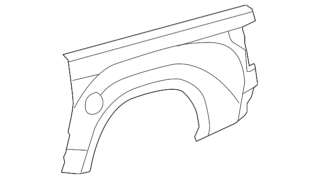 Outer Panel - Toyota (65816-0C090)