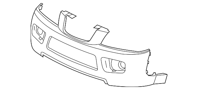 bumper cover for 2006 saturn vue