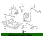 1999 Honda ACCORD SEDAN EXV6 BOLT, FLANGE (12X30) - (90164S84A00)