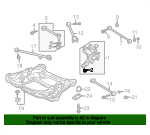 1993 Honda ACCORD COUPE EX BUSH A, RR. ARM (LOWER) (YAMASHITA) - (52365SM4004)