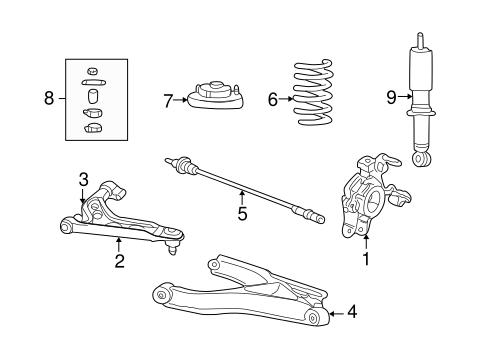 rear suspension for 2004 ford explorer. Black Bedroom Furniture Sets. Home Design Ideas