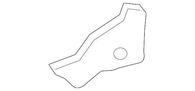 Cowl Top Panel Side Reinforced - Toyota (55724-06120)