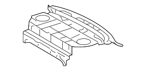 Package Tray - Toyota (64101-06150)