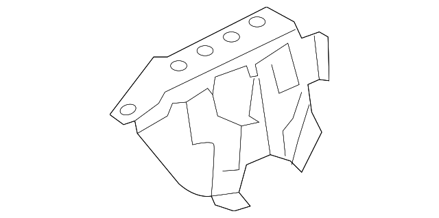 Apron Reinforced - Toyota (55705-42070)