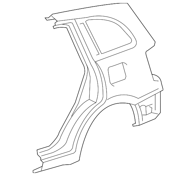 Quarter Panel - Toyota (61620-42260)