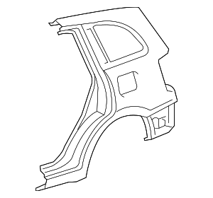 Quarter Panel - Toyota (61620-42270)