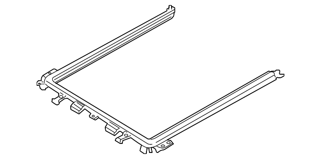 sunroof frame for 2007 ford escape