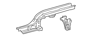 Rear Rail - Toyota (57601-52233)