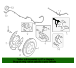 Caliper Support Retainer Kit