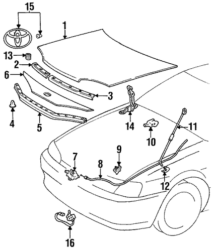 Front Seal - Toyota (53381-16070)