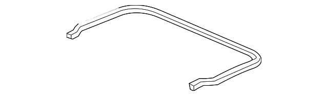 OEM Honda 74866-SJC-A00 - Seal Strip