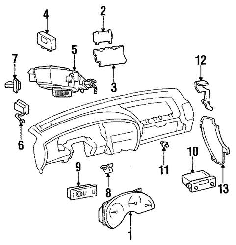 oldsmobile cutlass supreme connector 1995