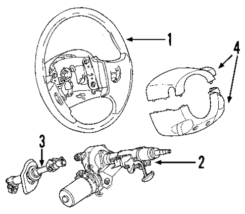Steering Coupling Diagram moreover Steering Gear Rack moreover Gmc Envoy Parts together with 2005 Gmc Steering Shaft Replacement additionally  on 2py3g dodge neon want replace rack pinion fluid leak