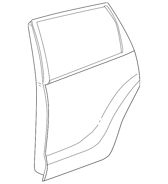 Door Shell - Toyota (67004-02300)