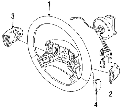 1993 Buick Park Avenue Wiring Diagram