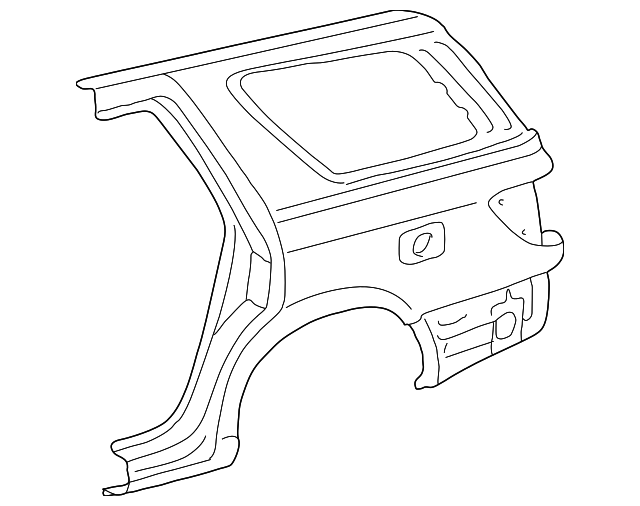 Quarter Panel - Toyota (61611-0C011)