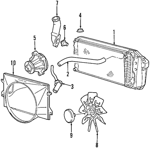cooling system for 2002 ford f 150 1995 F150 302 Fuel System Diagram 2001 Ford F-150 Fuel System Diagram