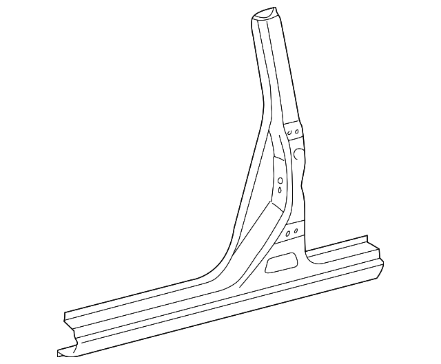 Center Pillar & Rocker - Toyota (61312-48020)