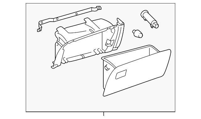 Glove Box Assembly - Toyota (55045-08030-B0)