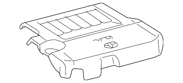 Engine Cover - Toyota (11209-0P010)