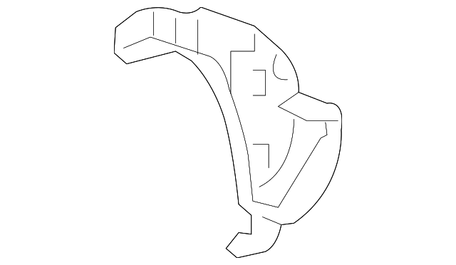 Side Brace - Toyota (66433-0C010)