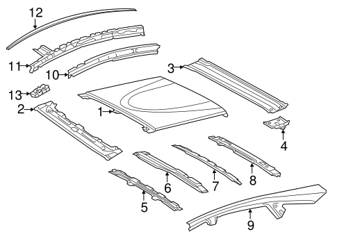 Rear Reinforced - Toyota (63104-47020)