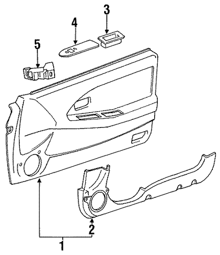 Map Pocket - Toyota (67777-17040-C1)