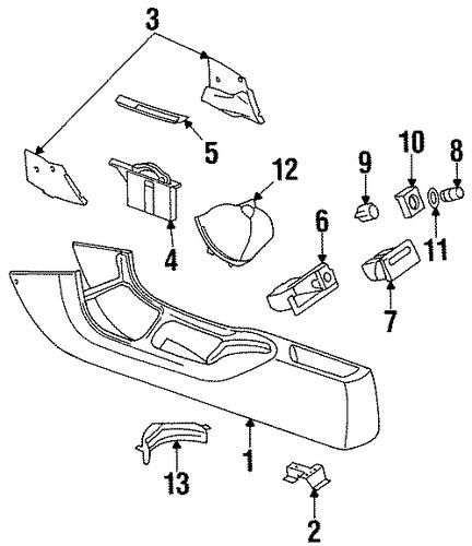1999 mercury cougar parts catalog
