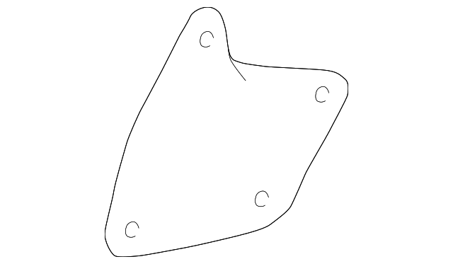 Lower Seal - Toyota (53736-0C010)