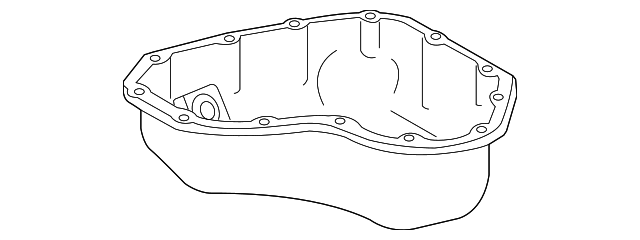 Oil Pan - Toyota (12101-0V030)
