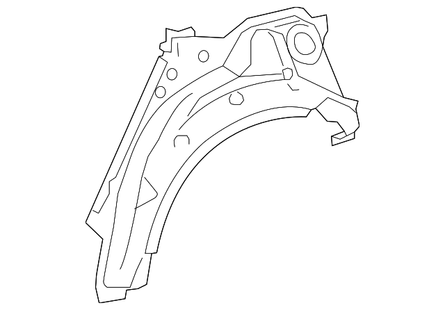 Outer Wheelhouse - Toyota (61631-47050)