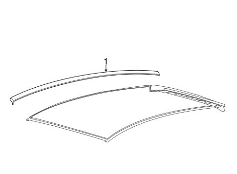 Exterior Trim Roof Scat in addition  on 2015 ford focus se sedan accessories