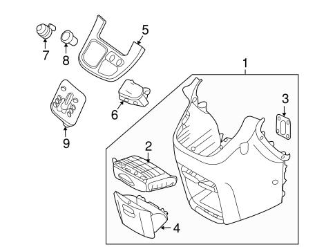 Instrument Panel Components Scat
