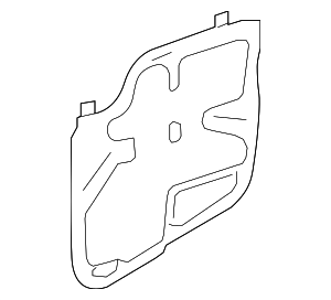 Water Shield - Toyota (67832-07040)