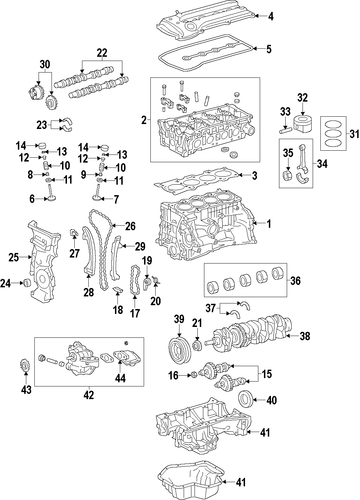 2009 toyota matrix parts catalog