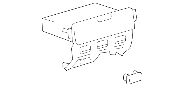 Compartment - Toyota (55406-52080-B0)