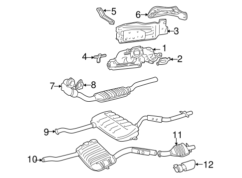 Tailpipe Extension - Volvo (31321083)