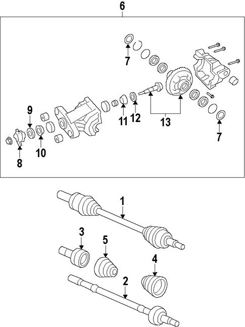 differential for 2009 pontiac g8