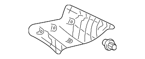 Upper Quarter Trim - Toyota (62470-AA050-B1)