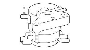 Side Mount - Toyota (12305-0V020)
