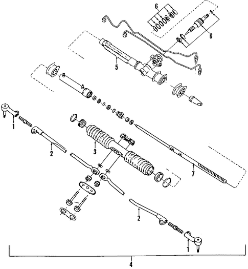 steering gear  u0026 linkage parts for 1996 chevrolet corsica