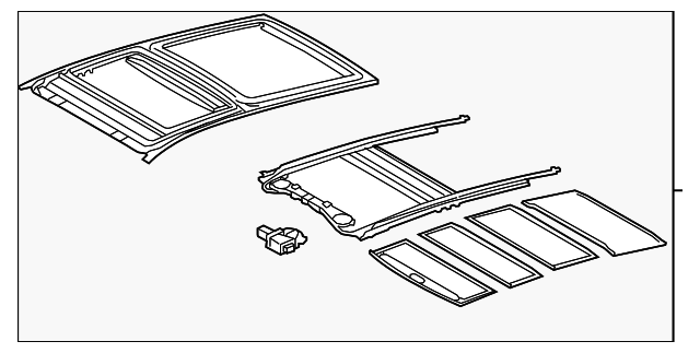 Housing Assembly - Toyota (63203-0T010-A0)